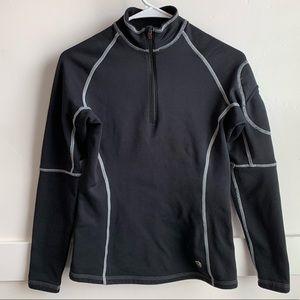 Mountain Hardwear Black Half Zip